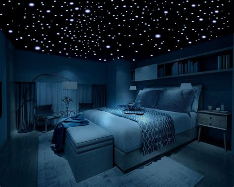 Diy Bedroom Decorating Ideas For Teens by Glow In The Dark Stars 600 Stars 3d Self Adhesive Domed