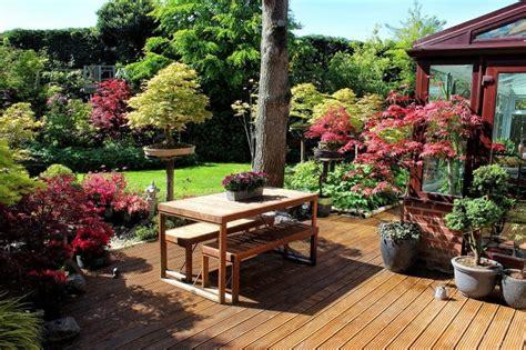 patio planter ideas garden outline