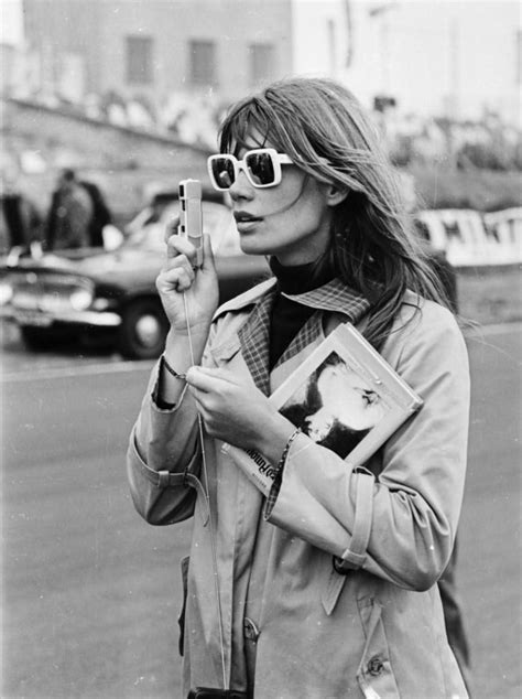 francoise hardy sunglasses ye ye girl 24 femmes per second