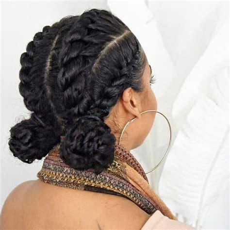 pretty protective style atlipstickncurls natural hair protective styles curly hair styles