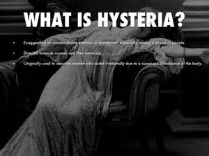 the crucible themes mass hysteria hysteria and how it relates to the crucible by