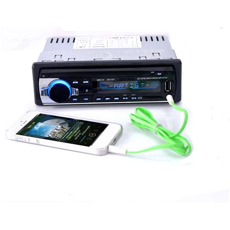How To Add Usb Port To Car Stereo by 12v Bluetooth Car Stereo Fm Radio Mp3 With Usb Sd Mmc Port