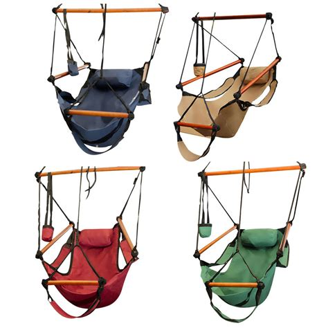 hanging chair swing hammock chair swing seat indoor outdoor garden patio yard