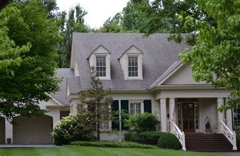 looking for 6 b 8 metal roof gray roof with bone color roof home exterior