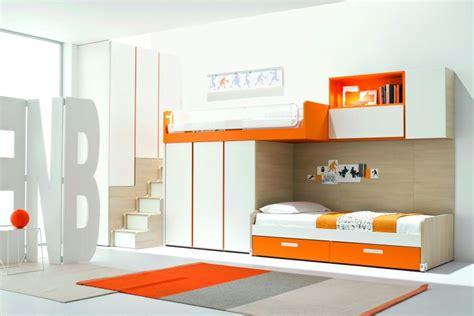lit surélevé avec bureau intégré rustique d 233 cor chalet