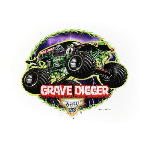 grave digger monster truck party supplies monster jam grave digger edible image cake decoration at