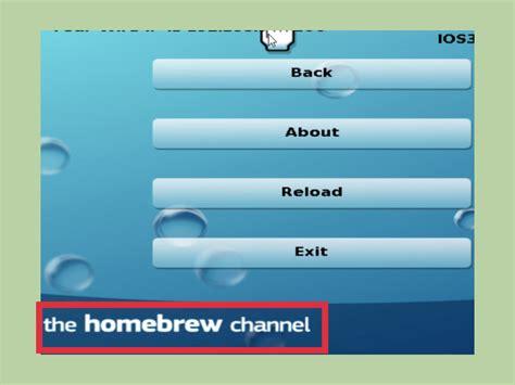 como instalar homebrew channel en c 243 mo instalar homebrew en wii versi 243 n 4 3 11 pasos