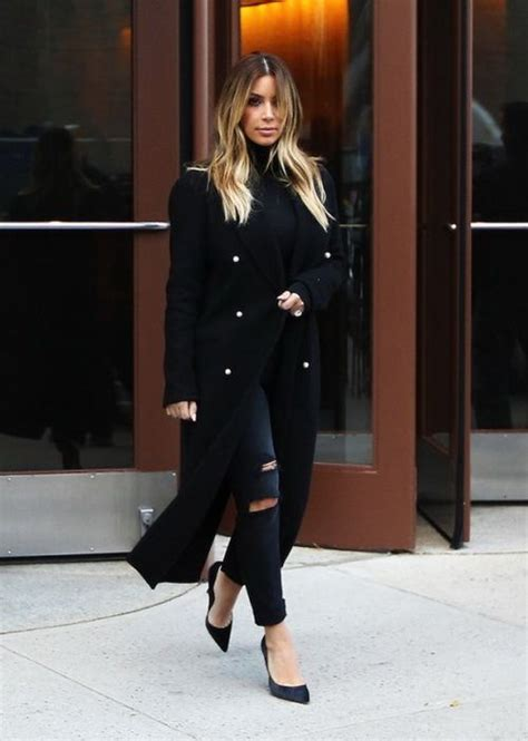 Adrianne Embro Shirt B L F coat and turtleneck search