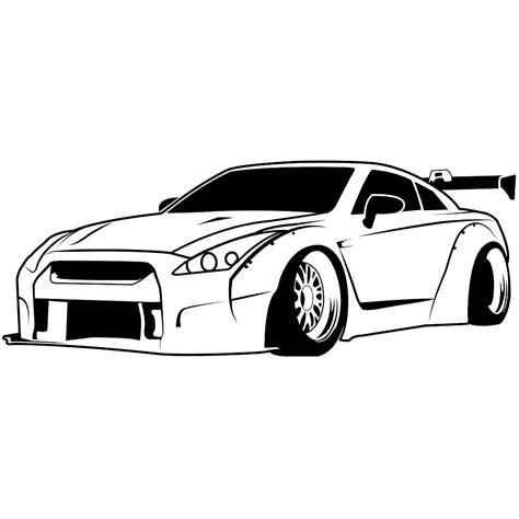 nissan 240sx drawing gtr car drawings sh3 me