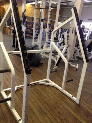 Cybex Squat Rack by Refurbished Cybex Squat Rack