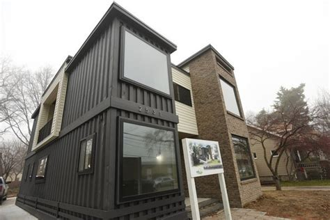 finished shipping container home  southeast