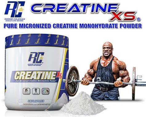 Creatine Xs 120 Serving ronnie coleman creatine xs 300g peak no 1 24