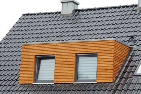modernisierung dachgaube mit holz rhombusschalung und