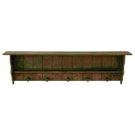 Wood Wall With Shelves Shop Woodland Imports 48 In Wood Wall Mounted Shelving At