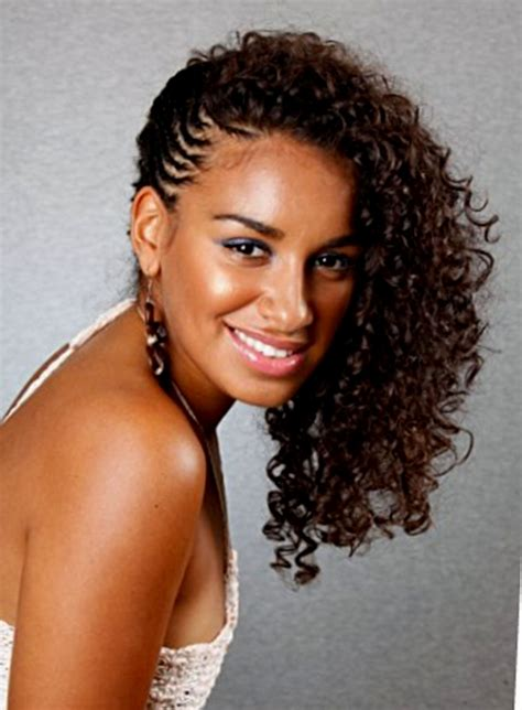 curly hairstyles with braids braided hairstyles naturally curly hair hairstyles ideas
