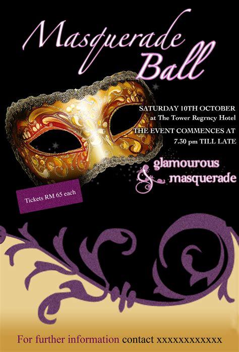 masquerade poster template portfolio by radhika kapoor at coroflot