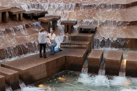 Dallas Wedding Photographer   Sweet Proposal at Fort Worth