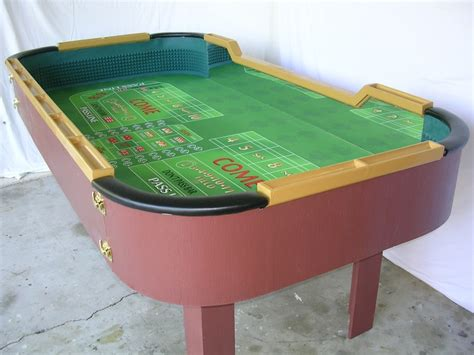 7 Best Craps Tables Images On Pinterest Casino Poker Portable Craps Table
