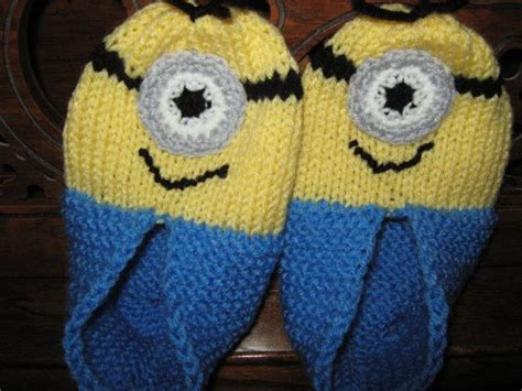knitted minion slippers 98 best minions inspired decor images on boy