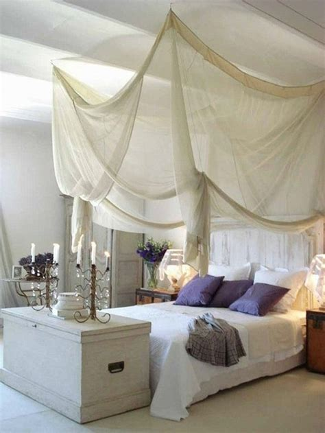 33 white canopy bedroom ideas