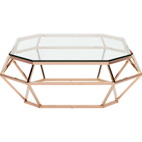 rose gold side table nuevo square coffee table stainless steel or rose