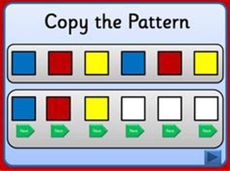pattern games iwb aba patterns on pinterest lego file folder activities