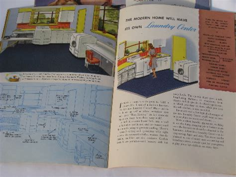 Kitchen Design Books Retro Kitchens Vintage 1940s Kitchen Design Book Appliance Catalogs