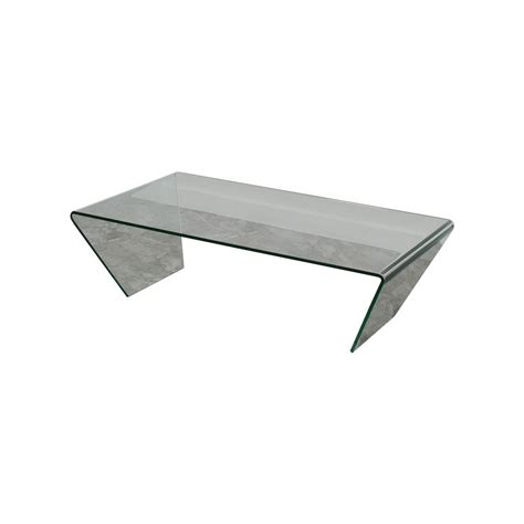boconcept coffee table 88 off boconcept boconcept glass coffee table tables
