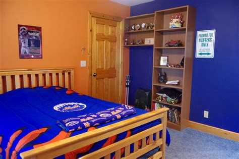 mets fan bedroom eclectic kids new york by rylex