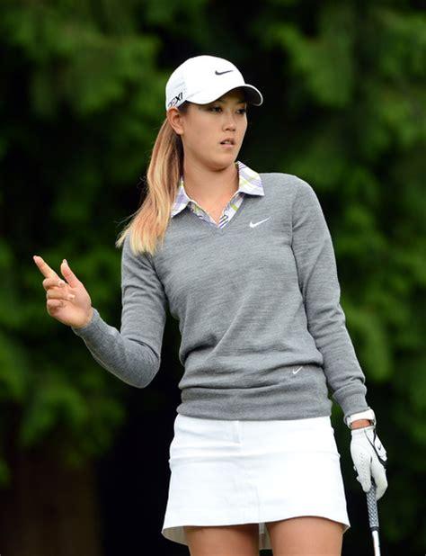Woman Golf Hairstyles | michelle wie photos photos cn canadian women s open