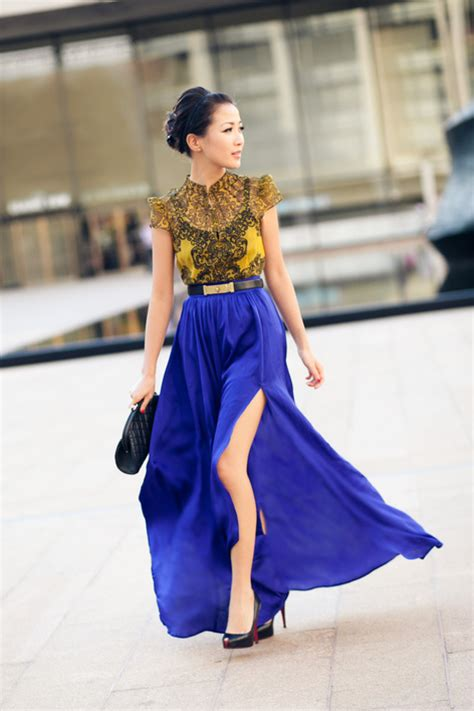 Kimono Blouse Navy Rok Flower blue tang yellow lace royal blue silk wendy s