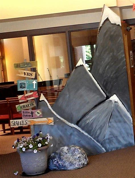 mountain themed decor 239 best images about vbs 2015 everest on