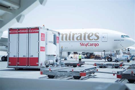 emirates cargo emirates skycargo ships 35 000 tonnes of cool chain products