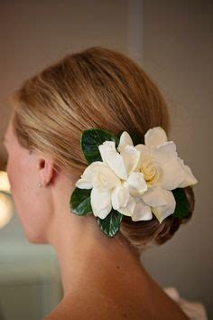 Gardenia For Hair Hair On Wedding Hairs Updo And Wedding Hairstyles