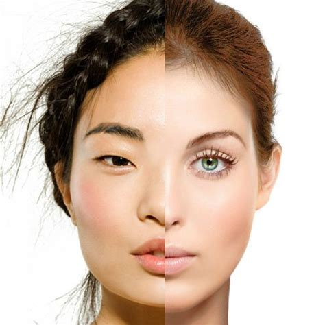 big face asian caucasian vs asian facial features rhinoplasty vs asian