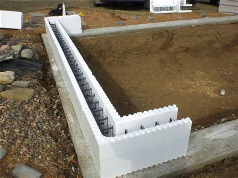 Styrofoam Basement Forms Insulated Concrete Forms