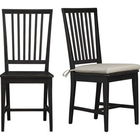 side chair crate and barrel dining room