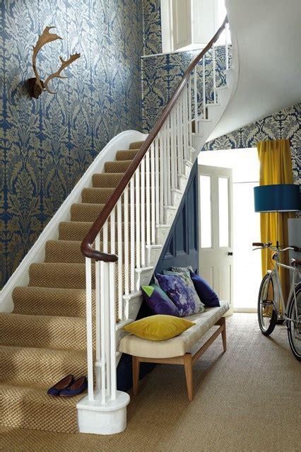 wallpaper and paint hallway ideas d 233 cor accessories houseandgarden co uk