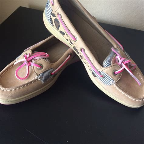 49 sperry top sider shoes pink cheetah sperrys from