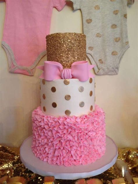 Baby Shower Pink And Gold by Pink And Gold Baby Shower Ideas Gold Baby Showers