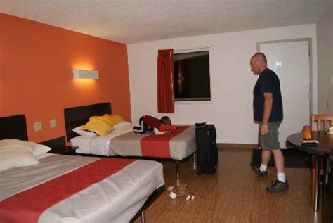 motel 6 room bed and sitting area picture of motel 6 winchester winchester tripadvisor