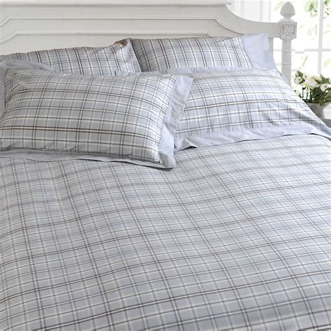 Checked Duvet Covers Grey Check Duvet Cover By Marquis Amp Dawe