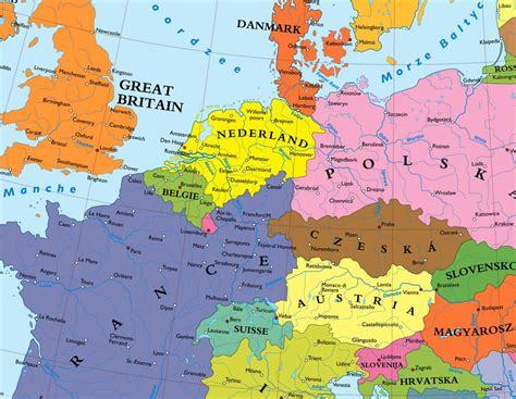 germany europe map a map of europe without germany big think