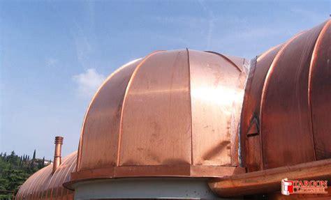 copertura a cupola cupole in rame targon cupole in rame coperture civili