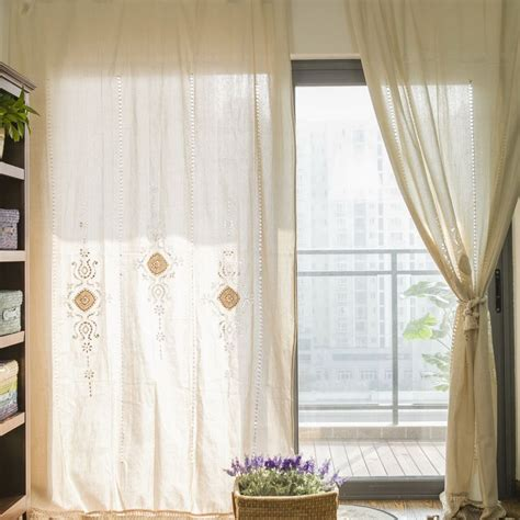 curtains vintage s v american country window curtain for living room