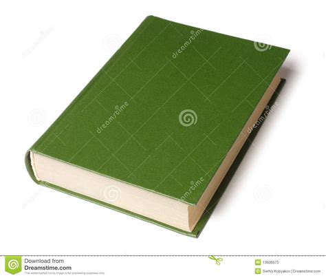 green a novel books single green book stock image image of empty green