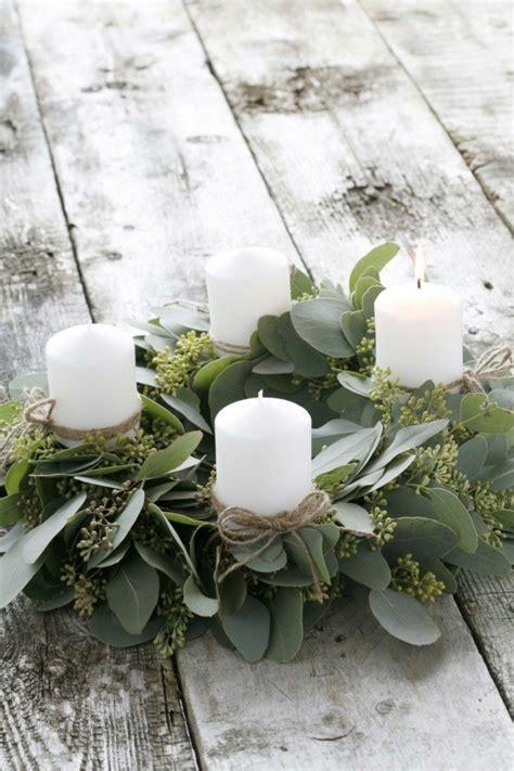 schöne kerzenhalter 40 adventskranz ideen und die geschichte des adventskranzes