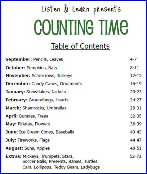 Counting Time Collection Song Lyrics And Sound Clip