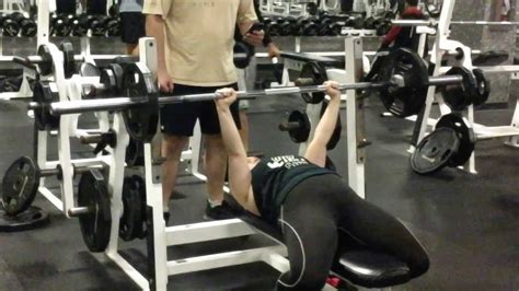 bench press 115 115 pound bench press youtube