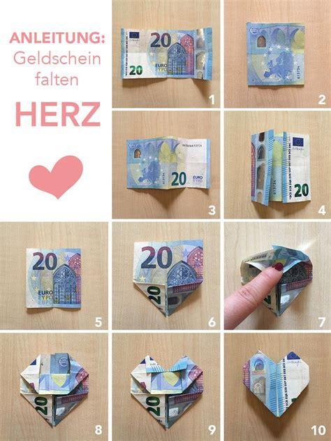 Auto Aus Geldscheinen Falten by Die Besten 25 Herz Aus Geldschein Falten Ideen Auf